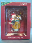 AMERICIAN GREETINGS ID RATHER BE GOLFING  ORNAMENT FROM 1997  (0059)