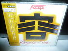 ACCEPT LIVE IN JAPAN 1985 JAPAN CD OBI 1875yen 20.8P SEALED 1ST PRESS