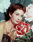 JEAN SIMMONS HAND SIGNED 8x10 COLOR PHOTO+COA  STUNNING HOLLYWOOD LEGEND