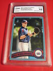 WILL MIDDLEBROOKS RED SOX 2011 TOPPS PRO DEBUT BLUE # 75 309 ROOKIE RC GRADED 10