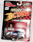 NIP NASCAR Die Cast Car Jeff Burton 99 1:64 2000 NEW Exide White Black Stand