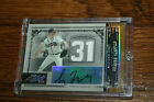 2005 Prime Cuts Century Material Number Greg Maddux Auto Dual Jersey 1 5