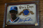 2005 SP Legendary Cuts Glory Days Material GOLD Fergie Jenkins Jersey Auto 10