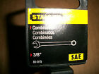 NEW  STANLEY  LONG  FULL  POLISH  COMBINATION  WRENCH  3/8