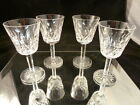Waterford Crystal Lismore WINE    Glass SET OF 4      GREAT CONDITION WINE