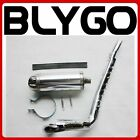 Bigbore Exhaust Pipe + 32mm Muffler System 150cc 160cc PIT PRO Trail Dirt Bike