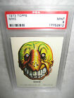 PSA 9 vintage Topps Ugly Stickers MIKE monster trading card 1973 NICE 1970's !!!