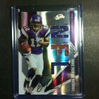 2009 Absolute Rookie Premiere Materials& Autograph Percy Harvin Vikings