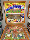 1952 Williams Slug Fest Coin-Op Baseball Pinball Animated Running Man Backglass