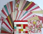Crate Paper Paper Heart 12 x 12 Paper Pad 48 Cardstock Papers Save 60