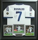 Cristiano Ronaldo Autographed Jersey Framed