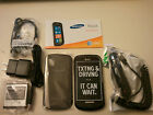 NEW SAMSUNG FOCUS i917 BLACK ATT UNLOCKED FREE CAR CHARGER WINDOWS 7 TOUCH