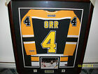 AUTHENTIC NHL JERSEY SIGNED BY BOBBY ORR #4 BOSTON BRUINS
