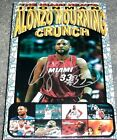 ALONZO MOURNING Signed Autographed Limited Edition Custom Miami Heat Cereal Box