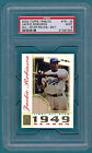 2003 Topps Tribute, Jackie Robinson Game Used Bat #TR-JR PSA 9! Dodgers! POP 2!