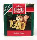 1990 Hallmark Handcrafted and Brass Collector Series Ornament