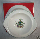 Nikko Happy Holidays Christmas Vegetable serving Bowl 10