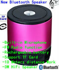 Wireless AEC Bluetooth Speaker for TABLET iPhone 6/5/4S/4 SAMSUNG GALAXY S5/S4/3