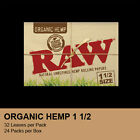 RAW ORGANIC PAPERS 150 FULL CASE 25 PACKS SALE
