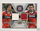 2012 Upper Deck MLS Dual Materials Pardo Pappa #TM-CHI Fire Game Worn Jersey