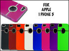 NEW STYLISH CHROME SERIES HARD BACK MOBILE CASE COVER FOR APPLE I PHONE 5 5G