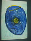 Original signed Dale Chihuly lithograph print - Soft cylinder 2