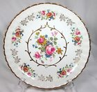 BEAUTIFUL WOOD & SONS ALPINE WHITE FLORAL PLATE
