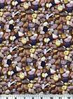 Fabric #2112, Neutral-Colored Stones, Rocks, RJR, Sold by 1/2 Yard