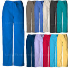 Cherokee Workwear Scrubs Pants Unisex Men Women Drawstring Cargo Pants 4100