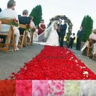 200 1000PCS Flowers Silk Rose Petals Wedding Party Table Confetti Decoration