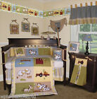 Baby Boutique - On the Farm - 13 Pcs Crib Nursery Bedding Set