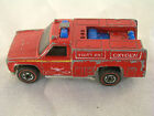 Vtg 1975 Redline Hot Wheels Mattel Toy Emergency Squad Rescue Truck Diecast 7650
