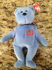 *NEW* America-9-11-01 Memorial Bear TY Beannie Baby 2001 Retired With Tags