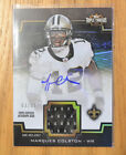 Marques Colston 2011 Topps Triple Threads Game-Used Jersey Autograph #D 63 75
