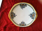Z AUSTRIA - M GRAHAM SIGHNED- HANDPAINTED PLATE GOLD HANDLES ART DECO 10IN