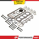Head Gasket Bolts Set 89 95 Geo Tracker Suzuki Sidekick 16L SOHC G16K G16KC