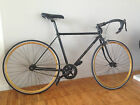 Custom Black  Gold Puch Road bike Lugged Frame Gold Wheels