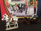 BRITAINS 40111 TROOPING THE COLOUR HER MAJESTY THE QUEEN in the IVORY PHAETON