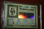 2005 Prime Cuts Timeline QUAD Material Dennis Eckersley Auto Jersey Patch 5