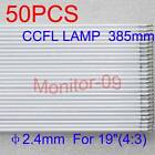 50PCS CCFL Lamps 24mm X 385mm For 1943 LCD Monitor BACKLIGHT