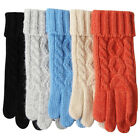 ELMA Ladies Wool Gloves Smart Phone Touch Screen Knitted strechy Gloves