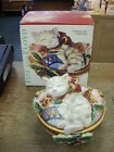Fitz and Floyd Kristmas Kitty Lidded Box in Original Box 2003