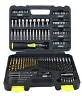 114pc Driver Drill and Bit Set