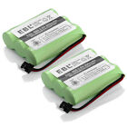 2x 800mAh Home Phone Battery for Uniden BT 800 BP 800 BT 905 Panasonic P P501