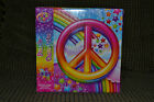 Lisa Frank Peace Sign Rainbow 48 Piece Puzzle Ages 5+