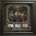 Secretariat Affirmed Seattle Slew Triple Crown Champions Signed Photo