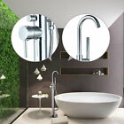 LED Bathroom Basin Brass Sink Waterfall Chrome Finish Mixer Tap Faucet  US10
