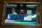 2005 Absolute Memorabilia Heroes Greg Maddux Braves Triple Jersey Patch Auto 5