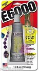 E6000 Jewelry  Bead 1oz w tips Adhesive Permanent Glue Rhinestone Crystal Clear