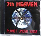 7th Heaven - Planet Under Seige (CD, 1992, US Indie) VERY RARE